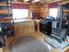 Alaska Bush Life, Off-Road, Off-Grid: Intentional Living in a Tiny Residence: Storage in a Log Cabin