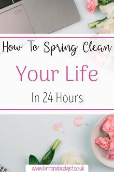 Spring is the perfect time to Spring Clean and refresh your home. However, it is also the best time to clear out your mind and create new routines in your life. By having a clear out mentally as well as physically, it can help you to think straight and to feel more revitalised.