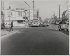 Merrick Avenue 1966 railroad crossing