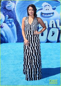 Gina Rodriguez at the premiere of  Smallfoot  Gina Rodriguez 807ed16bb