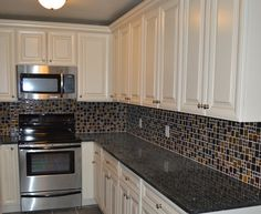 Like this for bedroom.  Casa Blanca Glazed Kitchen Cabinets