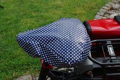 Fahrräder - Fahrradsattelbezug kuschelig und regenfest - ein Designerstück von…