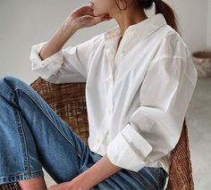 Korean Fashion Trends you can Steal – Designer Fashion Tips Denim Fashion, Fashion Pants, Look Fashion, Fashion Outfits, Fashion Design, Outfits With Hats, Casual Outfits, Instagram Look, Modern Hepburn