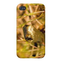 SOLD! Snake in the Grass iPhone 4 Cases by FunNaturePhotography on Zazzle. #snake #iphones