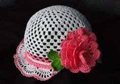 Hats, hats and panama: knit crochet ~ For inspiration