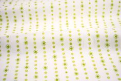 Dotty Stripe in Green from the Hello World Collection by Cori Dantini for Blend Fabrics - fabric by the yard