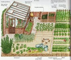 Vegetable garden planning vision boards how we focus on building a dream thornebrook farms garden care backyards garden gardencare 44 awesome one day garden projects ideas that anyone can do Potager Garden, Veg Garden, Vegetable Garden Design, Garden Cottage, Garden Care, Vegetable Gardening, Garden Beds, Pool Garden, Container Gardening