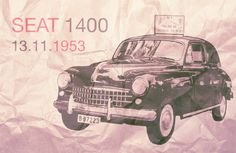 SEAT 1400 - The first ever SEAT, introduced over 60 years ago! Explore, Vehicles, Car, Automobile, Cars, Vehicle, Autos, Tools