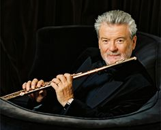 Sir James Galway....I was SOOOOO blessed to have taken lessons from this man. He truly is an AMAZING flautist; and a true Irishman :-) <3 <3 --