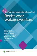 Boonen, Jan. Recht voor welzijnswerkers. Plaats: 340 BOON