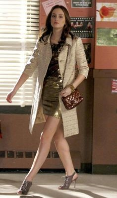 Blair Waldorf in Gossip Girl Gossip Girls, Gossip Girl Cast, Estilo Gossip Girl, Gossip Girl Outfits, Gossip Girl Fashion, Blair Waldorf Outfits, Blair Waldorf Gossip Girl, Blair Waldorf Style, Gossip Girl Blair