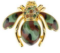 Joan Rivers - Glamoflauge Bee Pin