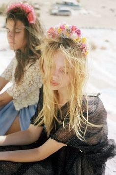 Floral Crown  #boho #bohemian - ☮k☮