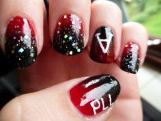 14 Pretty Little Liars-Inspired Nail Designs You'll Go CrAzy For