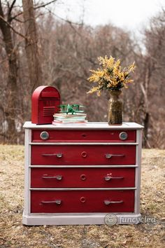 Vintage car dresser, this blogger really rescues furniture from junk, check out her site!