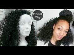 How to make a Crochet Wig - YouTube