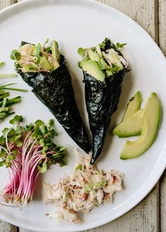 Recipe: Crab & Avocado Hand Rolls (Temaki)