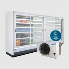 Milano Remote Multideck Chiller with Double Glazed Doors