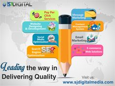 SJ Digital is a complete Internet Marketing Provider, which provides services like Website Design and Development, Digital Marketing, Content Management System, Bulk Messaging, Ecommerce Solutions, Graphic Designing, App development and much more.  Visit us at www.sjdigitalmedia.com or call us at +91 935 110 7374 for any query.  #SJDigitalMedia #Website #Design #Development #DigitalMarketing #SEO #SMO #eCommerce #SEM #PPC