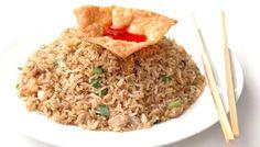 : Como cocinar arroz cantones.