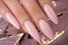 Tammy Taylor | Long High-Arch Almond Nail Tutorial | Chit Chat @tammytaylornails