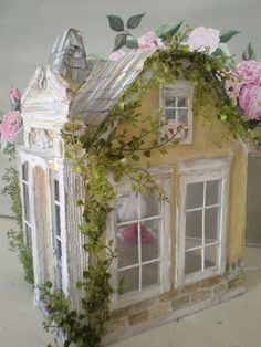 Cinderella Moments: Ballerina Cottage Custom Electric Dollhouse