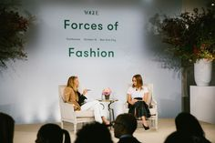 Forces of Fashion: Vogue's Conference With Gigi Hadid, Clare Waight Keller, and Kris Jenner, Scene Photo, City Style, Industrial Style, Conference, New York City, Behind The Scenes, Backdrops, Ballet Skirt