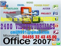 Office 2007 Videotutoriales Word, Excel, Power Point  #Office, #2007, #Videotutoriales, #Word, #Excel, #Power, #Point
