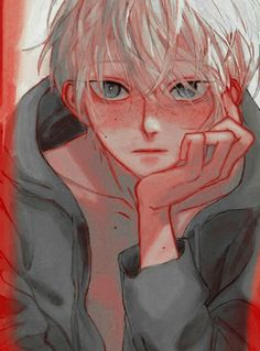 Find images and videos about cute, boy and art on We Heart It - the app to get lost in what you love. Anime Oc, Cute Anime Guys, Cute Anime Couples, Aesthetic Drawing, Aesthetic Anime, Pretty Art, Cute Art, Anime Drawing Styles, Sad Art