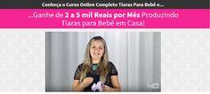 marketing digital: Tiaras Para Bebê