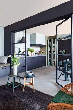 cuisine ouverte sur le salon | cuisines | pinterest | house