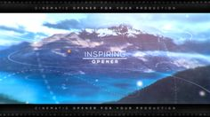 Inspiring Parallax Opener | Slideshow (Openers) #Envato #Videohive #aftereffects