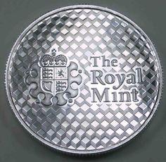 UK The Royal Mint OFFSET Silver 1 Oz [1618