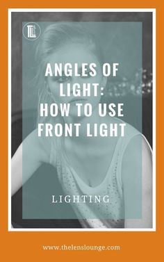 How to use front light in photography. Photography is all about light. Learn how to see and use different angles of light. Get creative, master light and start taking great photos today. #photographytips #anglesoflight #howtouselight #photographylighting