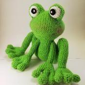 Froggy Amigurumi Pattern - via @Craftsy