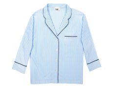 Marina Pajama Top (Light Blue Bengal Stripe) - Sleepy Jones. Perfect pj's.