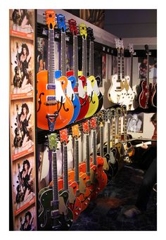 Gretsch booth at NAMM 12,