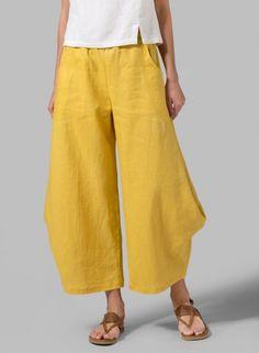 Plus Size Solid Linen Women Pants – chiclinenlinen pants women Loose Outfits casual outfits linen pants elegant Fashion pants Linen Pants Outfit, Linen Pants Women, Wide Leg Linen Pants, Pants For Women, Miss Me Outfits, Cool Outfits, Casual Outfits, Casual Pants, Casual Tops