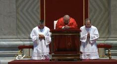 #PopeFrancis | Celebration of the Lord's Passion