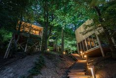 Forest Hotel, Hungary, Glamping, Garden Design, Sidewalk, Deck, Country, Places, Outdoor Decor