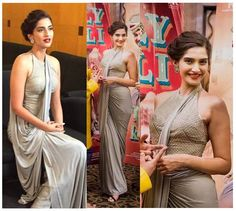 Sonam Kapoor in Shantanu and Nikhil Saree....she's done it again! I just love everything about this saree. Not sure if sonam kapoor makes it have that extra je nais se quoi