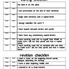 I use this with my 2nd Grade students when they begin the publishing phase. First they go through and check off if they have thoroughly edited. The...