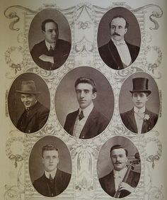Titanic Musicians - Photographs of the members of the Titanic orchestra, all of whom died in the disaster. | Flickr - Photo Sharing!