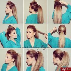 Pony Tail Tutorial #hair