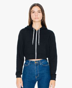 http://www.quickapparels.com/women-stylish-cropped-flex-fleece-zip-hoodie.html
