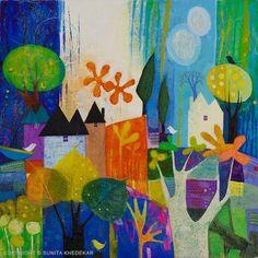 Sunita Khedekar, paintings - ego-alterego.com
