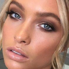 53 Ideen für Braut Make-up Pale Eyeliner - Wedding Makeup Lipstick Makeup Guide, Eye Makeup Tips, Makeup Inspo, Makeup Inspiration, Makeup Ideas, Makeup Geek, Makeup Tutorials, Makeup Designs, Makeup Trends