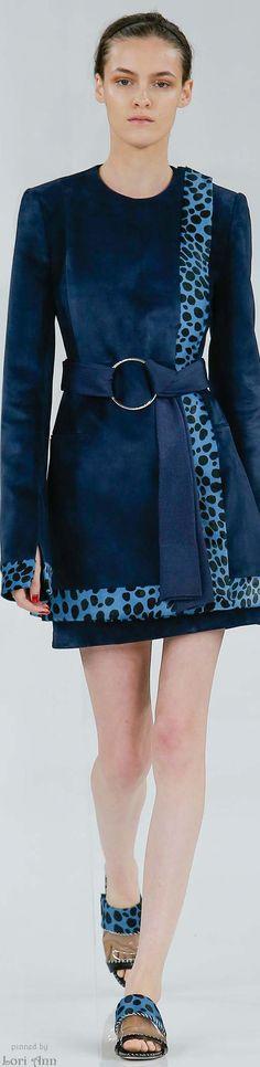 Interesting coat - but PLEASE WEAR IT WITH LOOSE-CUT TROUSERS! Edun Spring 2015 RTW