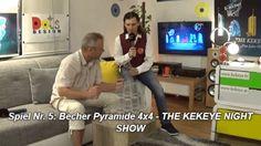 Spiel Nr. 5: Becher Pyramide 4x4 - THE KEKEYE NIGHT SHOW #kekeye #kekeyespiele #kekeyetalente #wien #vienna 4x4, Night Show, Vienna, Tumbler, Games