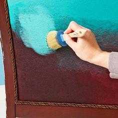 Sofá pintado 3